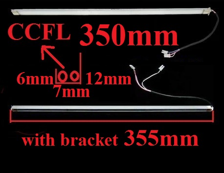 350mm CCFL with bracket 355mm wide 7mm for 17
