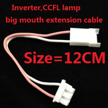 Inverter,CCFL lamp big mouth extension cable