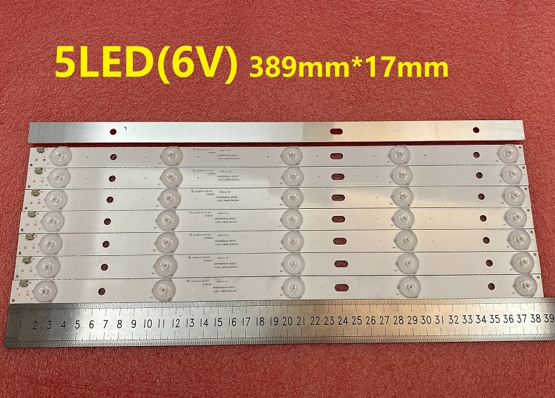 8pcs LED strip for Philco PH40R86 PH40R86DSGW 400S8605X8-B0040 400S8606X8-A0035