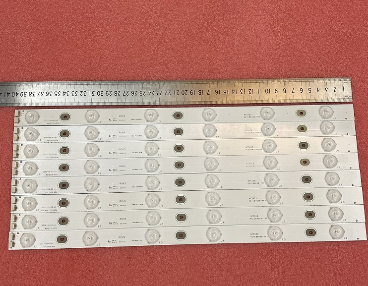 8 PCS LED strip for  For Toshiba Dl4061 TCL 40F2370-6EA E312177 006-P2K1793B NF5XE9 4C-LB4006-YH3