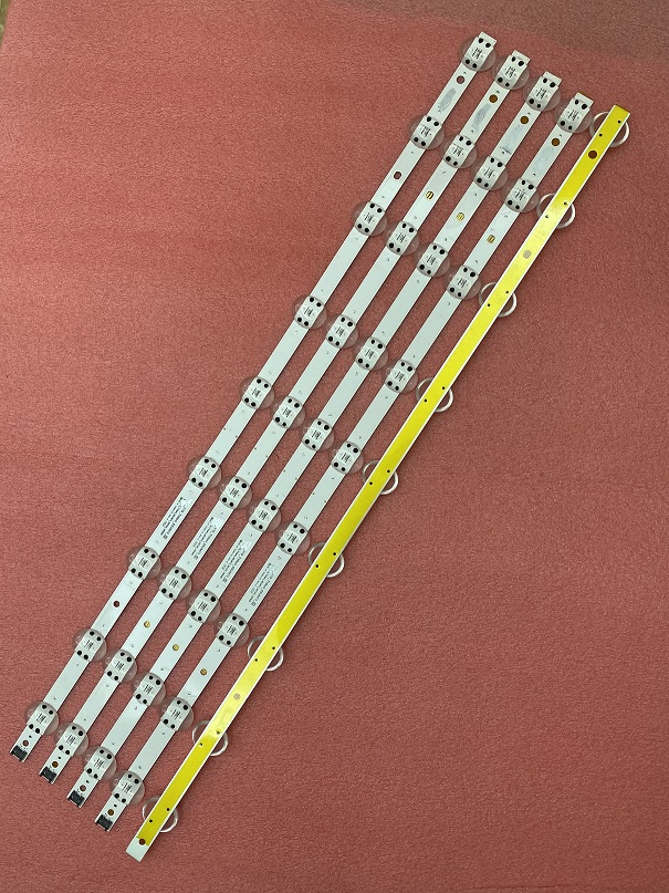 5 PCS LED strip for LG 1365 65UM7300AUE LGIT SSC_Y19_Trident_65UM73_S E469119