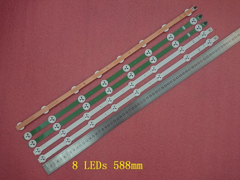 4 Pieces LC320DXN LED32M3500PDE LED32M3560PDE LED strip 6916L-1219A 6916L-1220A