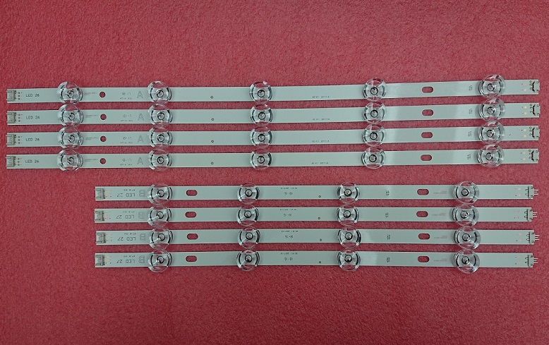 8 PCS/set LED strip replacement for LG 47LB6100 innotek DRT 3.0 47 inch A B 6916L-1715A 6916L-1716A