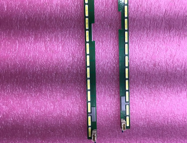 2pcs 63LED 607mm LED strip for LG 55LF6300 6922L-0149 6916L2234A 6916L2235A 55