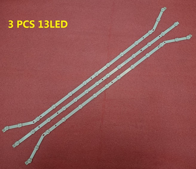 3 PCS 13LED LED strip for Samsung UE40EH5450 D3GE-400SMA-R2 D3GE-400SMB-R3 BN96-28767B BN96-28766A