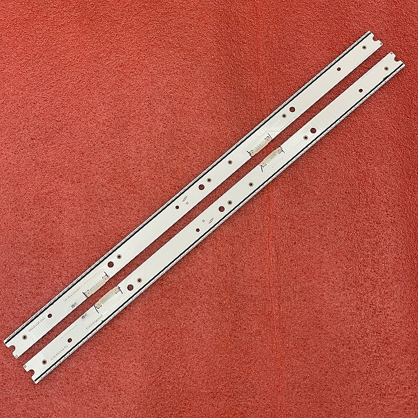LED strip(2) for Samsung UN55JS9000 UE55JS8000 BN96-34774A BN96-34775A BN96-39057A BN96-39058A