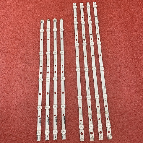 8pcs LED Strip for Samsung UN48H4005 BN96-32769A 32770A DMGE-480SMA-R6 DMGE-480SMB-R6 LM41-00090Z