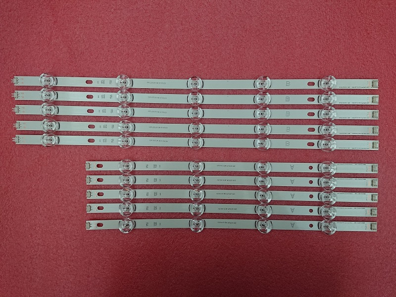 10 PCS LED strip Replacement for LG 49LB580V   DRT 3.0 49 inch A B 6916L-1944A 1945A 1788A 1789A