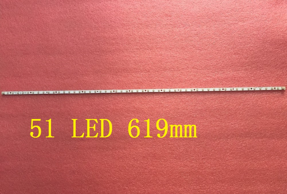 1 PCS 51LED 619mm MM2700AH LED backlight strip for LM270WQ1
