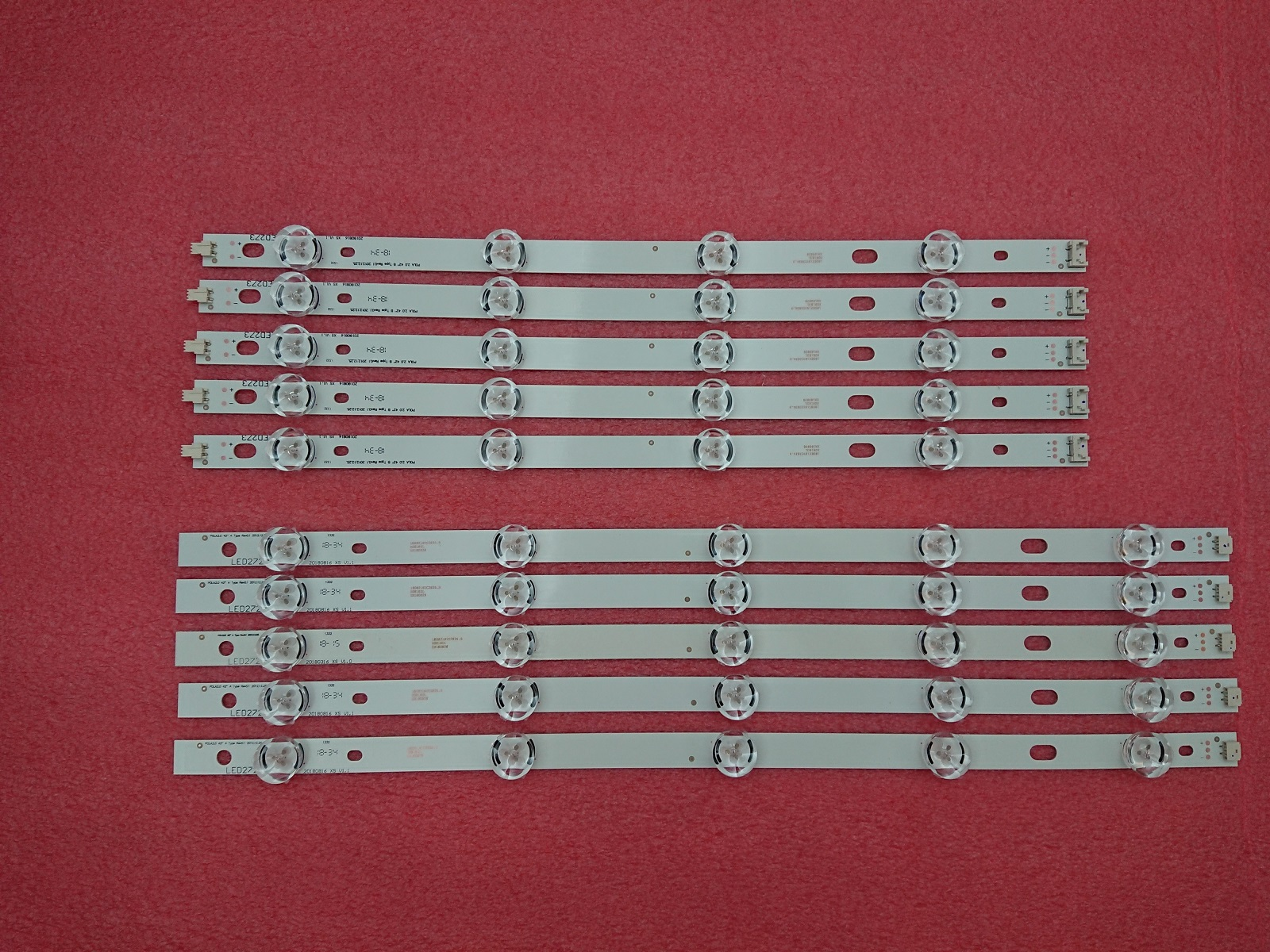 Kit 10pcs LED strip Replacement for LG T420HVN05.2 innotek POLA2.0 42 inch A B POLA 2.0 42