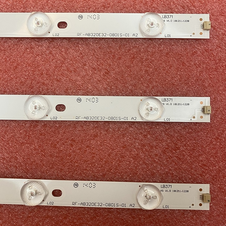 3pcs LED strip For LED32B16 RF-AB320E32-0801S-01 LED32TC2300E TK97K4000000 TJ100K4000000