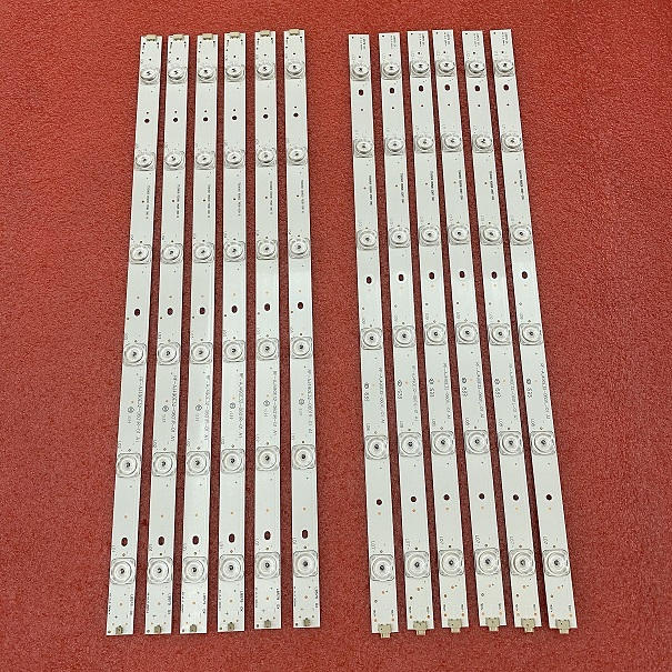 LED strip(12)for sharp RF-AJ490E32-0601R-01 RF-AJ490E32-0601L-01 A1 LC-49CFF5001K LC-49CFE6032E