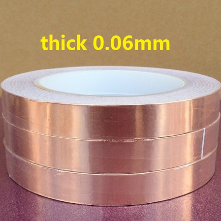 11mm*50M*0.06mm Single conductive Copper foil tape