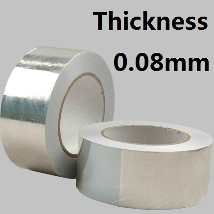 3 Roll/lot Aluminum foil tape BGA 8mm*50M