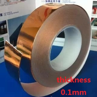 40mm*20M*0.1mm Single conductive Copper foil tape