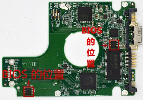 2060-771961-001,771961-F01 for WD Hard drive for notebooks USB