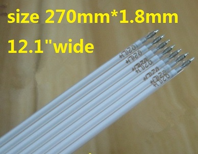 270mm*1.8mm CCFL tube for 12