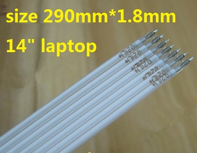 290mm*1.8mm CCFL backlight for 14