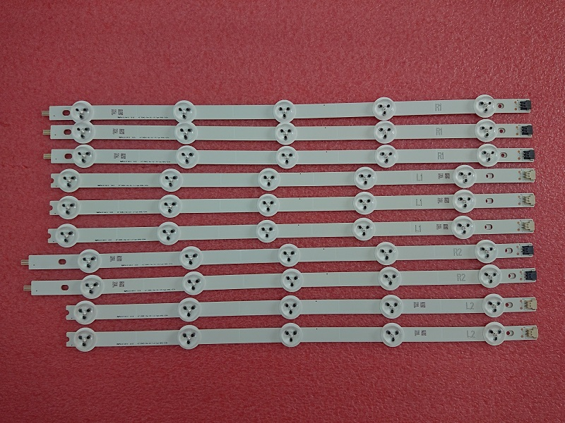 10 Pieces New original 42LN5700 LED strip E74739 6916L-1214A 6916L-1215A 6916L-1216A 6916L-1217A