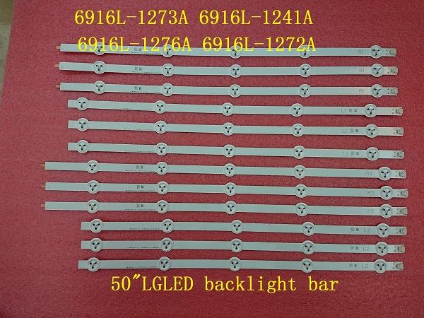 New original 12pcs LED strip for LG 50LN5600 6916L-1273A 6916L-1241A 6916L-1276A 6916L-1272A