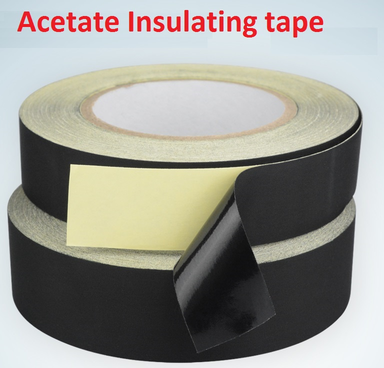 8mm*30M Black Acetate tape,LCD repair tape,retardant insulation tape