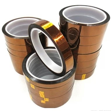 KAPTON Tape 65mm*33M*0.08mm Goldfinger brown high temperature polyimide