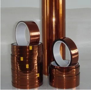 KAPTON Tape 10mm*33M*0.12mm Goldfinger brown high temperature polyimide