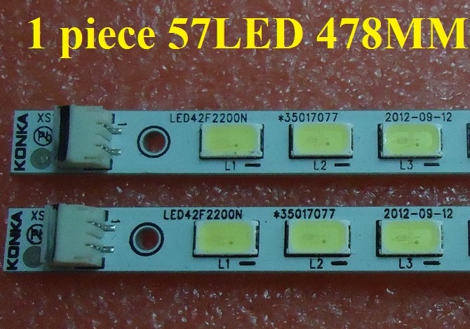 LED42F2200N LED strip 35016488 35017077 1 piece 57LED 478MM