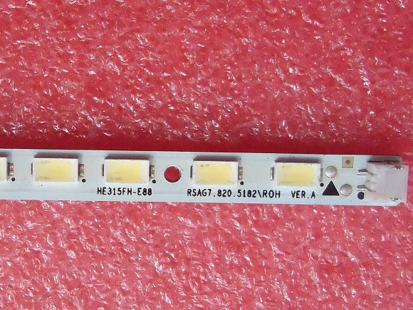 LED32K300 JT-1118066-B LED RSAG7.820.5182/ROH VER.A for screen HE315FH-E88 1 pieces 44LED 405MM