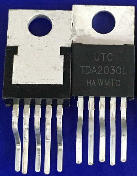 TDA2030A TDA2030L TO220 linear audio amplifiers
